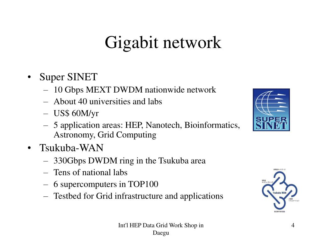 Gigabit network