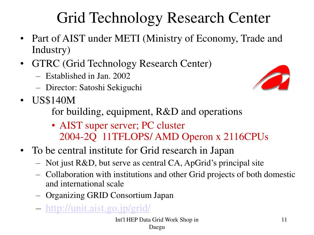 Grid Technology Research Center