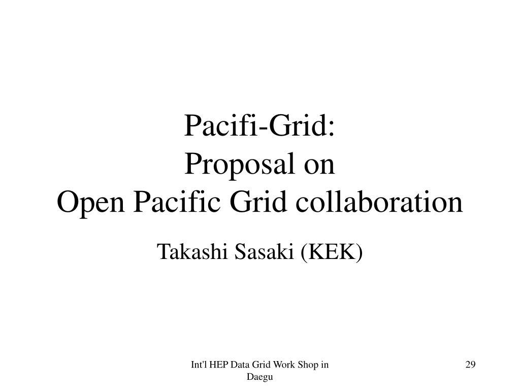 Pacifi-Grid: