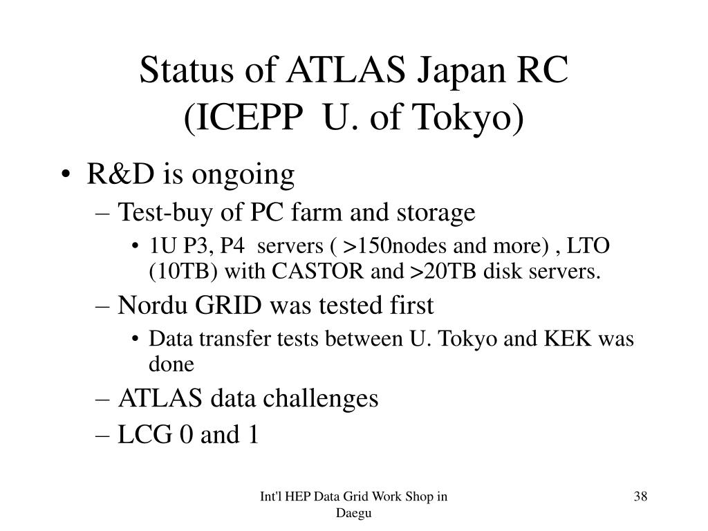 Status of ATLAS Japan RC
