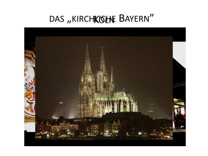 """das """"kirchliche Bayern"""""""