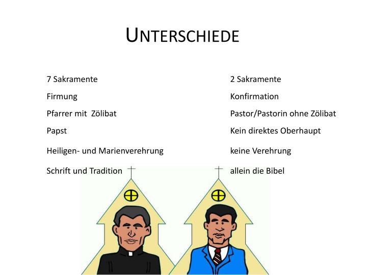 Unterschiede