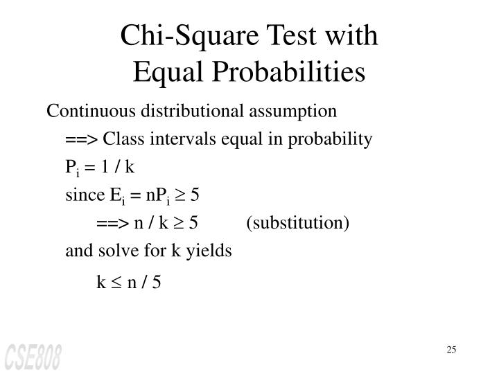 Chi-Square Test with