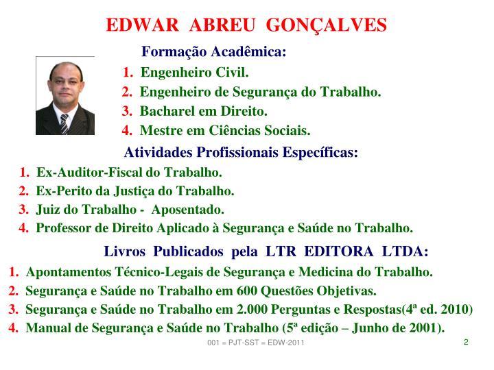 EDWAR  ABREU  GONÇALVES