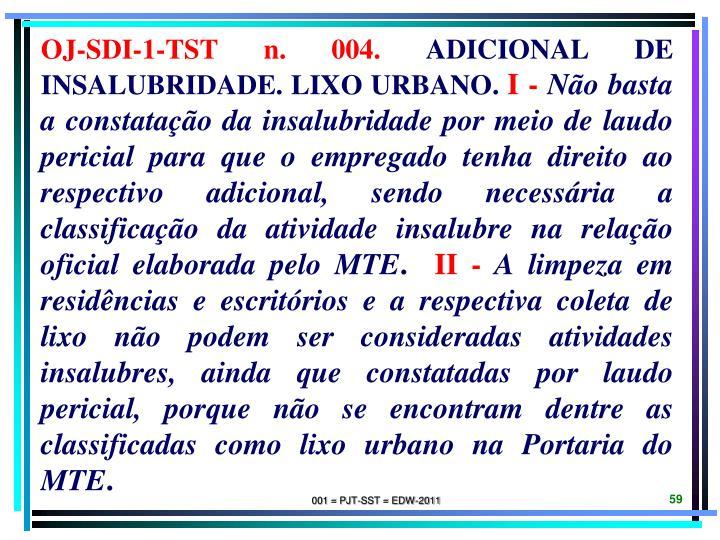 OJ-SDI-1-TST n. 004.