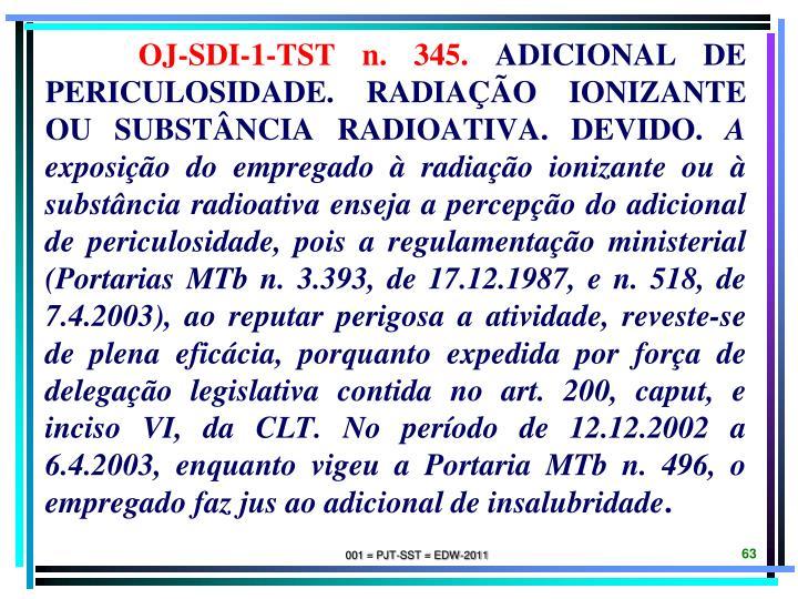 OJ-SDI-1-TST n. 345.