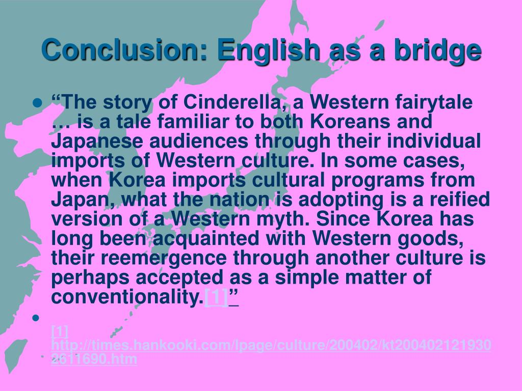 Conclusion: English as a bridge