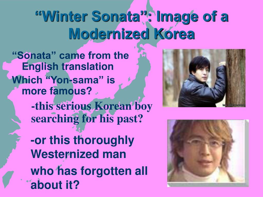 """Winter Sonata"": Image of a Modernized Korea"