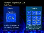 multiple population ga mpga