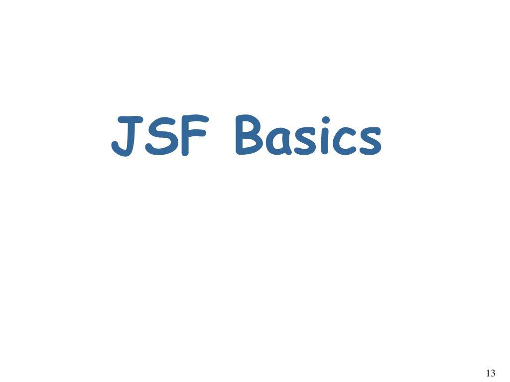 JSF Basics