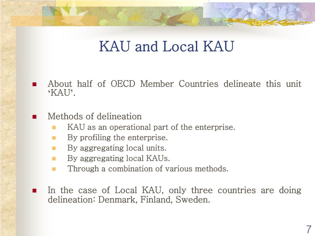 KAU and Local KAU