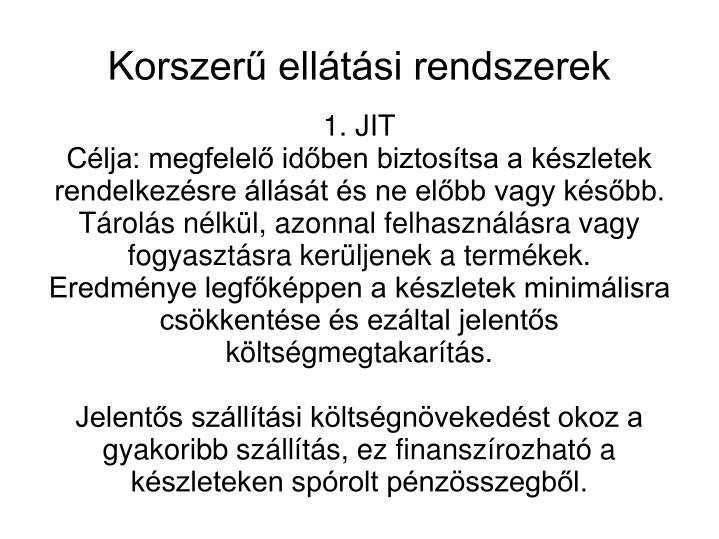 1. JIT