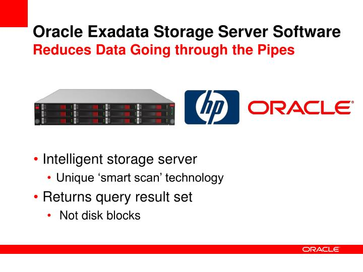 Oracle Exadata Storage Server Software