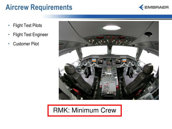 Aircrew Requirements