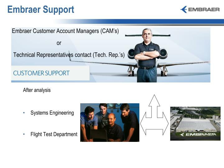 Embraer Support