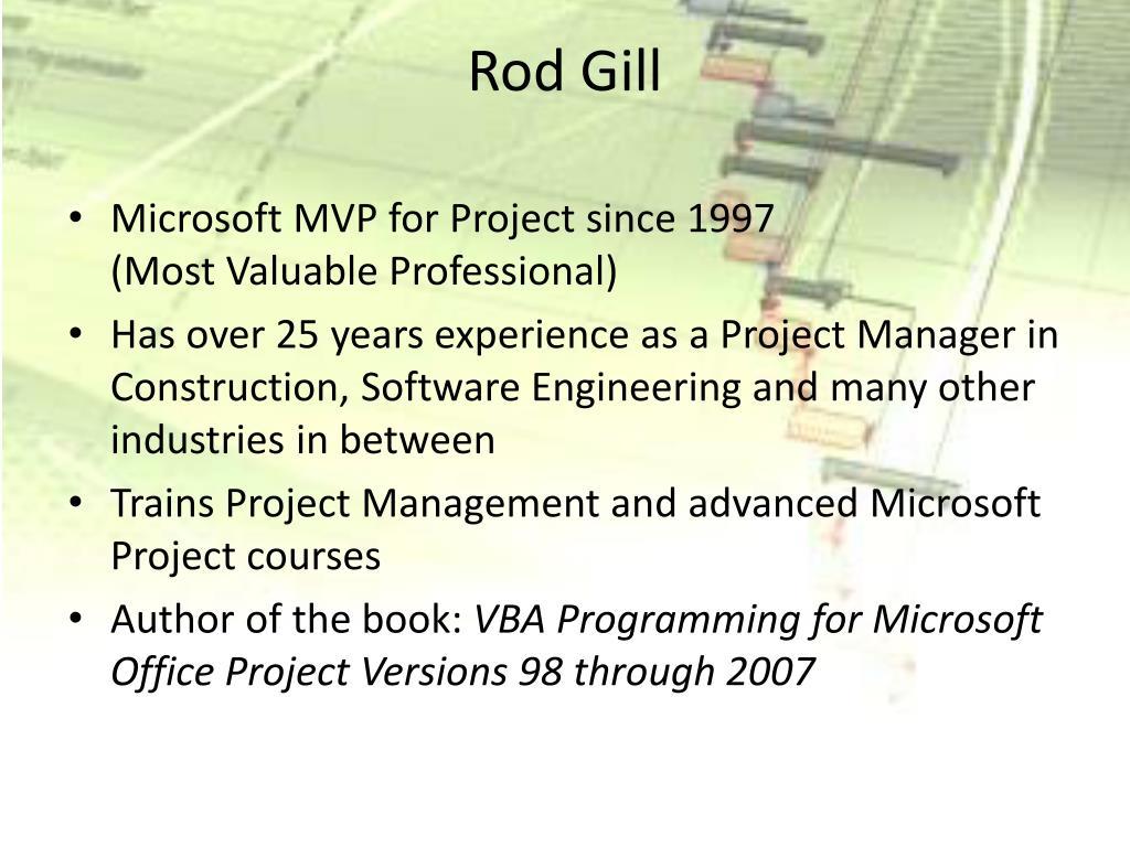 Rod Gill