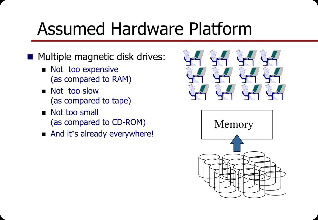 Assumed Hardware Platform