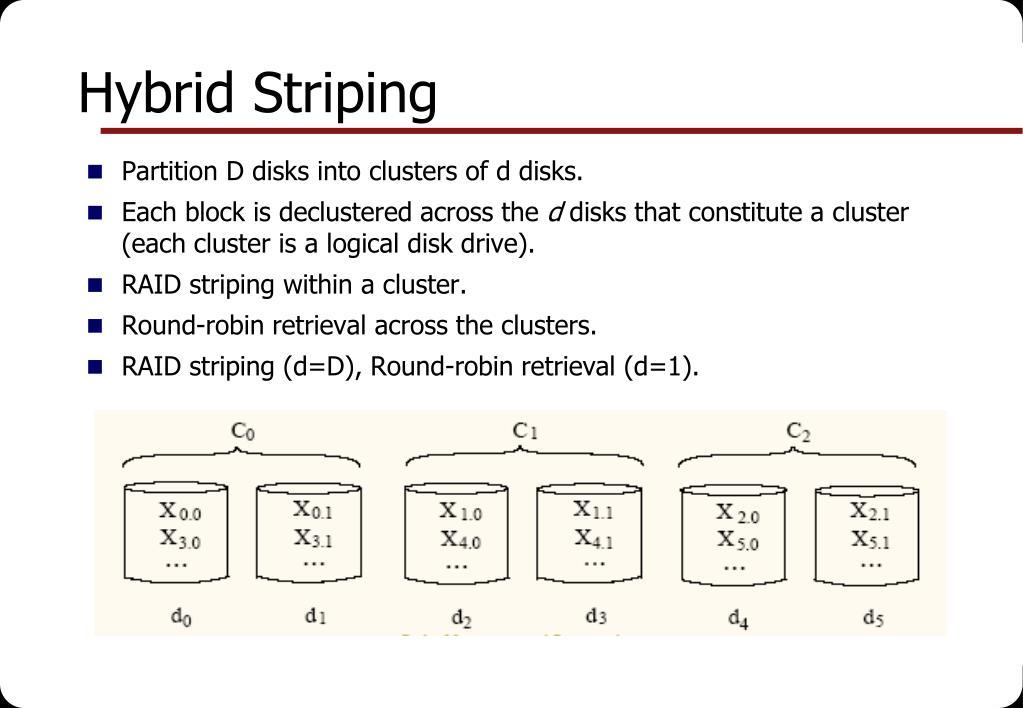 Hybrid Striping