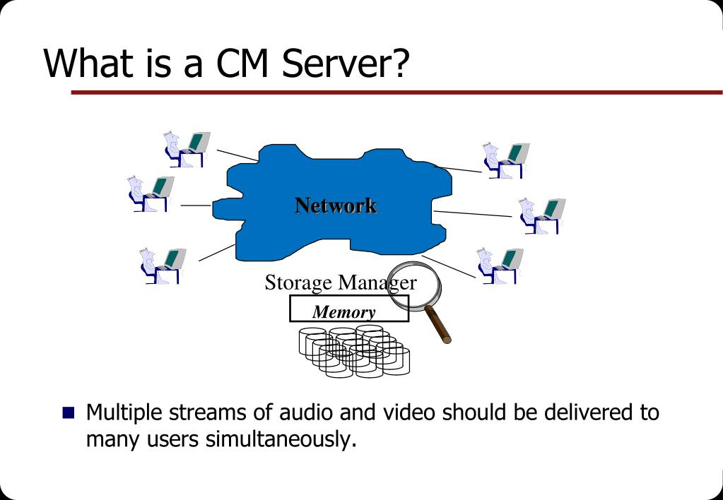 What is a CM Server?