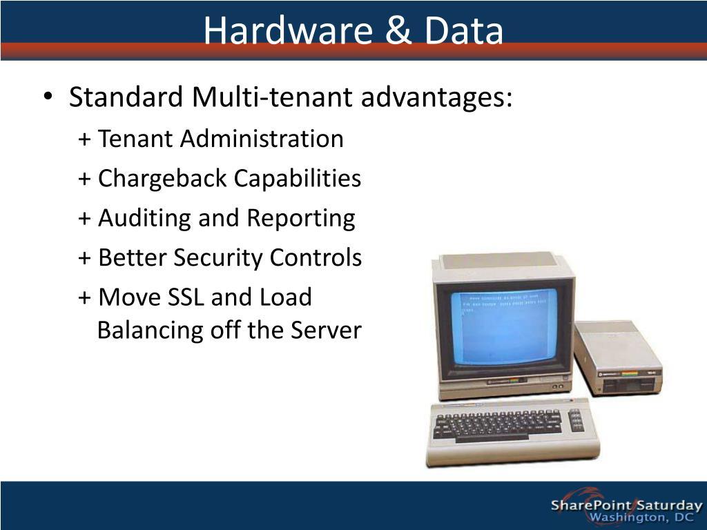 Hardware & Data