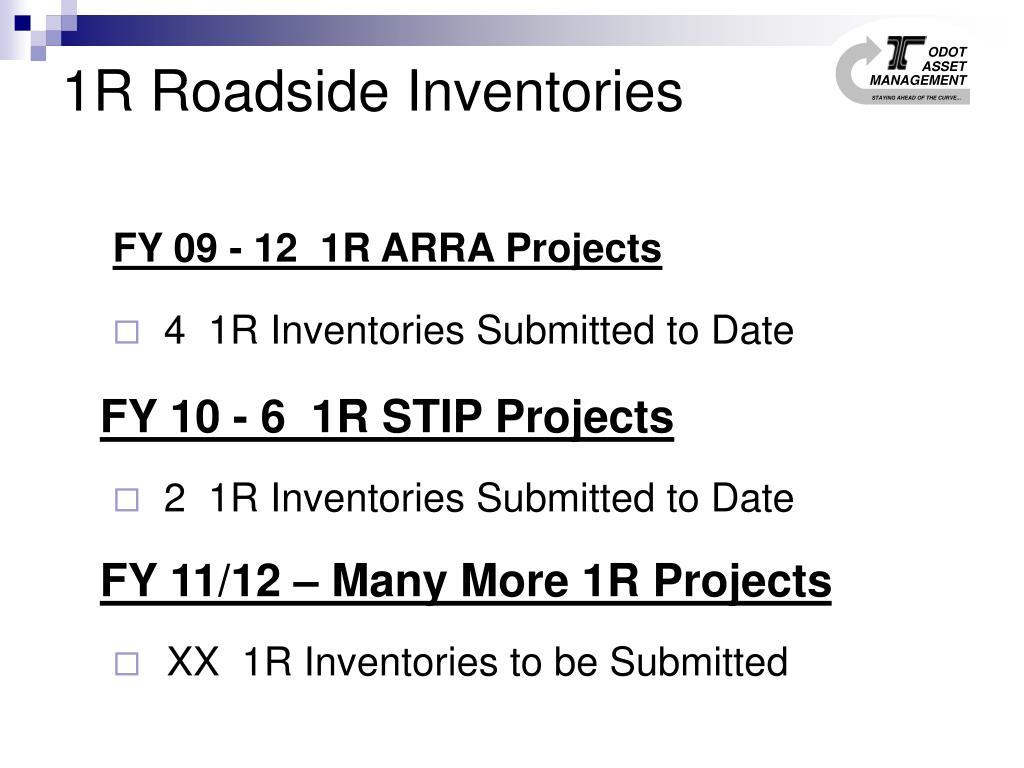 1R Roadside Inventories