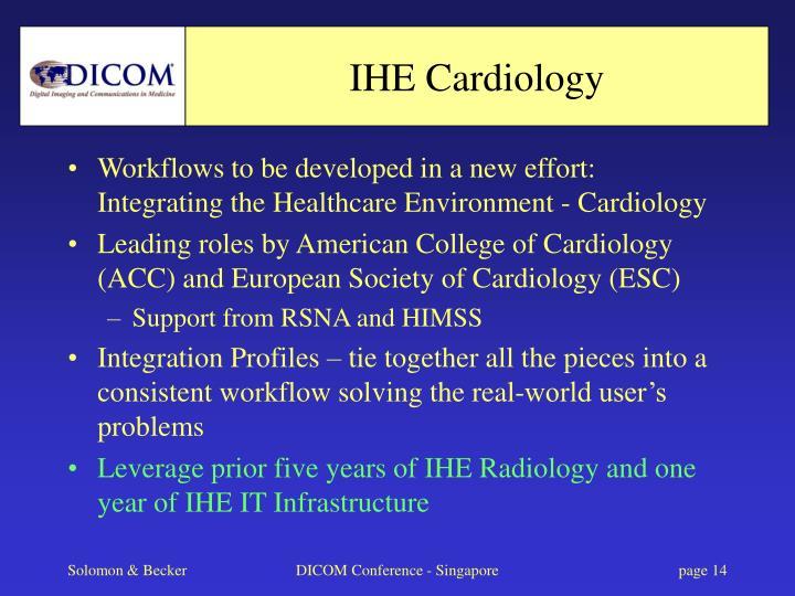 IHE Cardiology