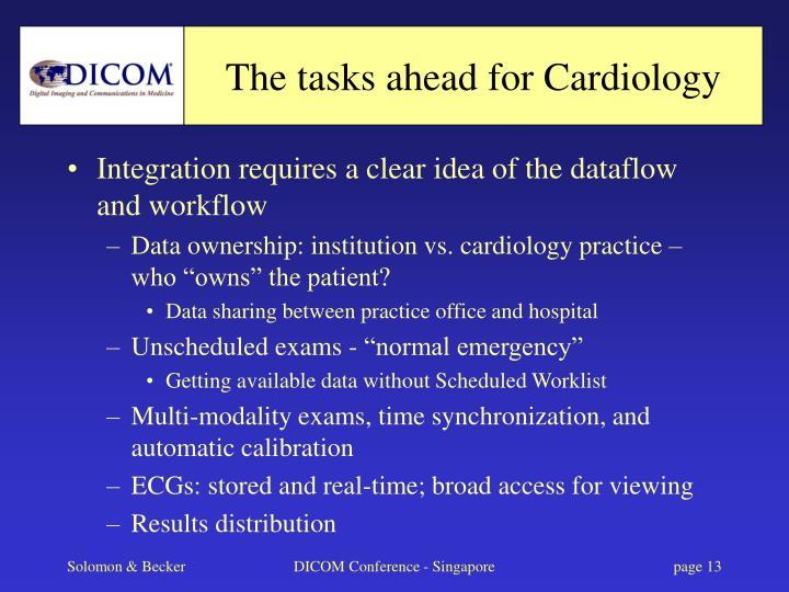 The tasks ahead for Cardiology