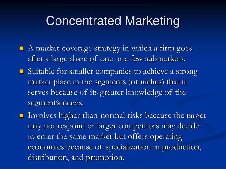 PPT - Market Segmentation, Targeting and Positioning for ...