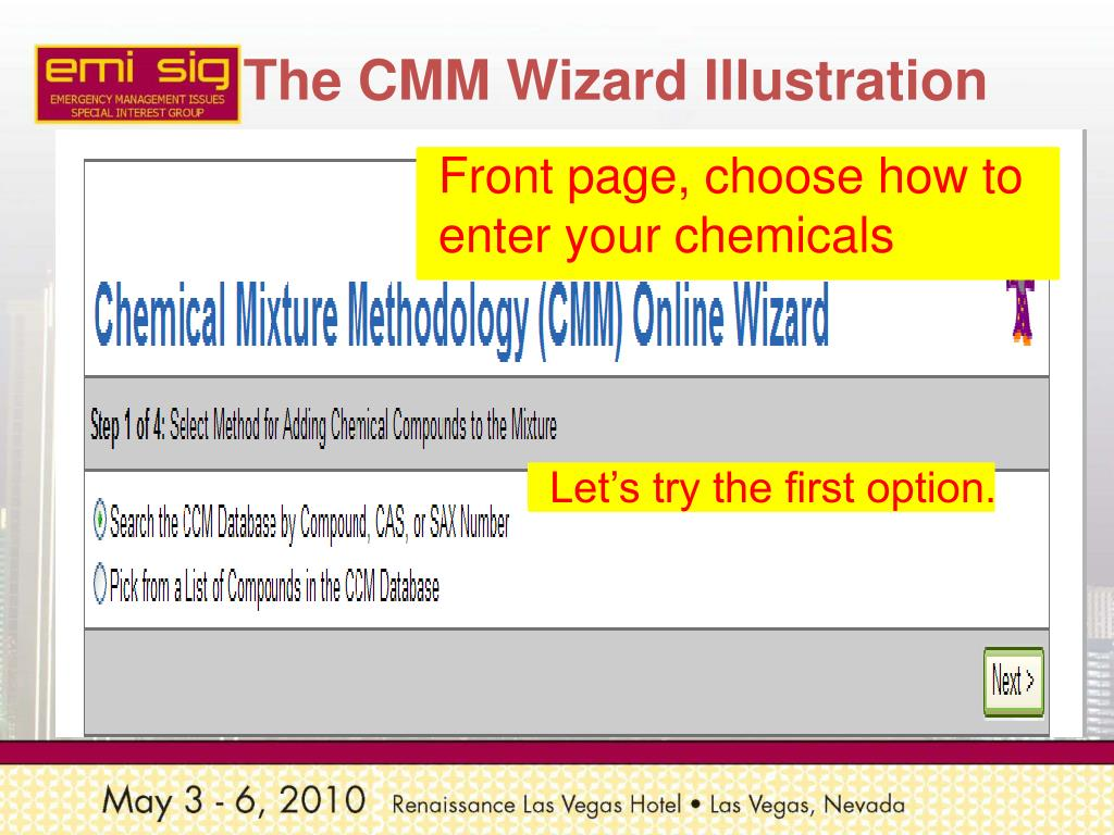 The CMM Wizard Illustration