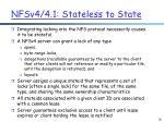 nfsv4 4 1 stateless to state