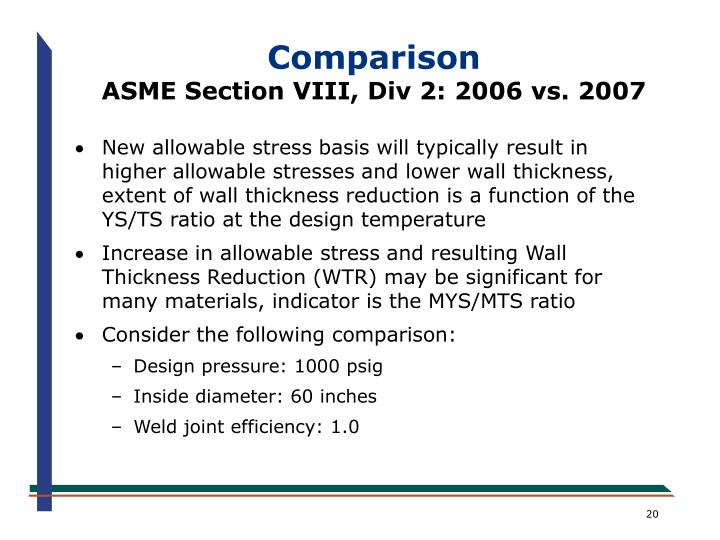 Ppt an overview of the new asme section viii division 2 - Asme sec viii div 2 ...