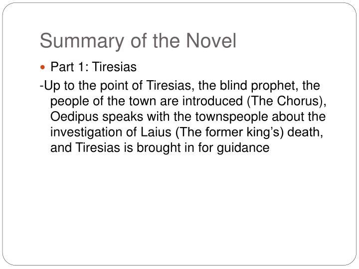 Summary of the Novel