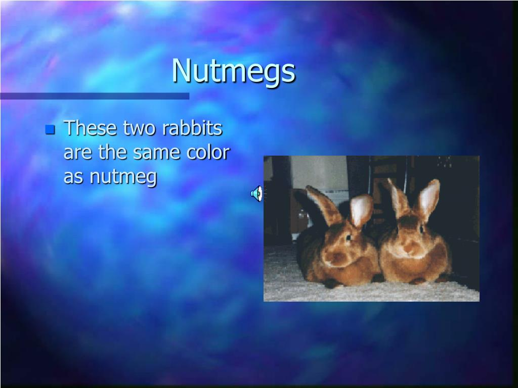 Nutmegs