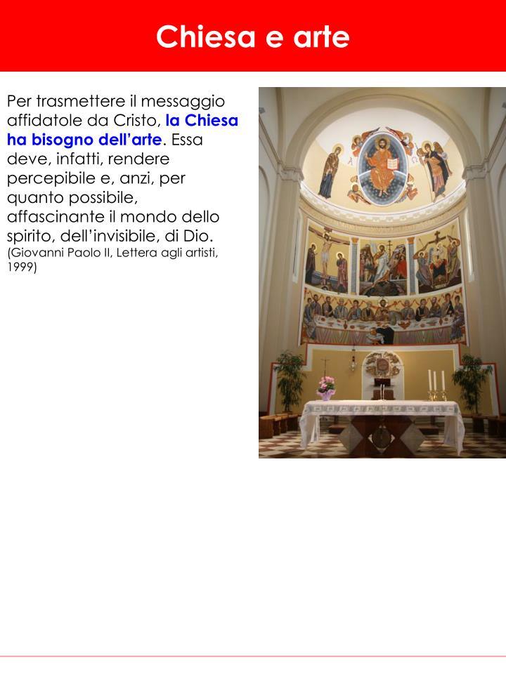 Chiesa e arte