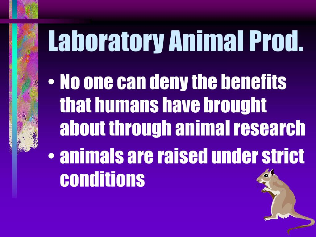 Laboratory Animal Prod.