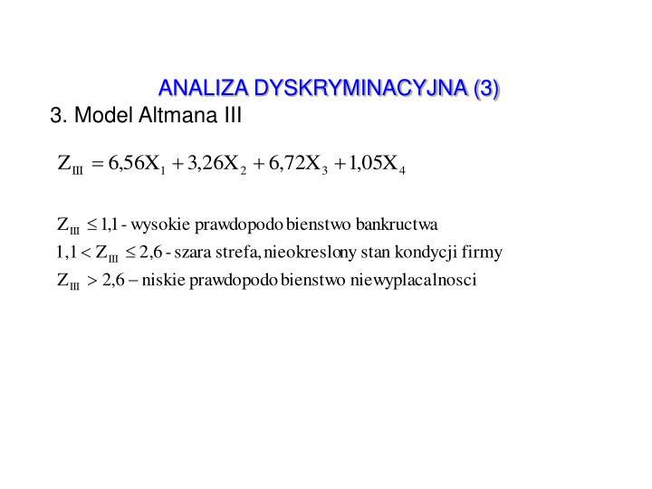 ANALIZA DYSKRYMINACYJNA (3)