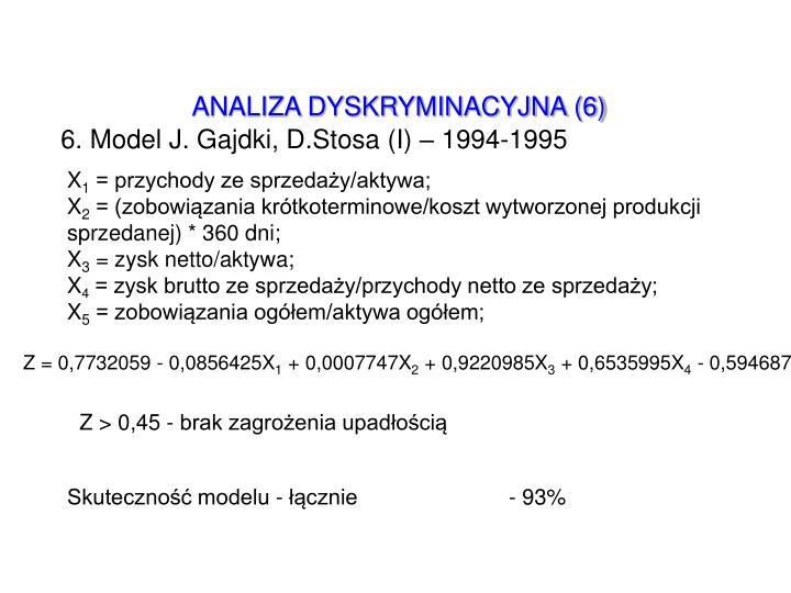 ANALIZA DYSKRYMINACYJNA (6)