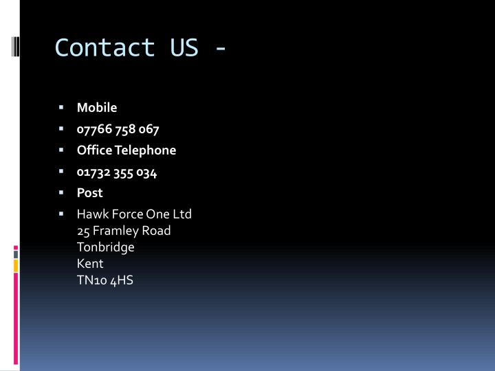 Contact US -