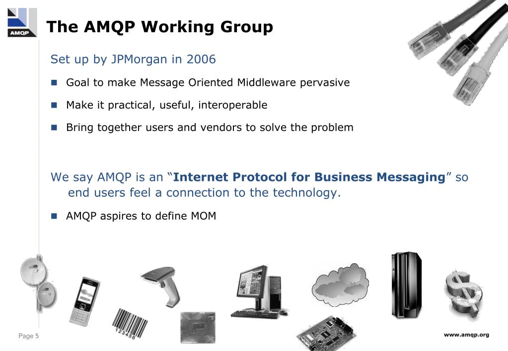 The AMQP Working Group