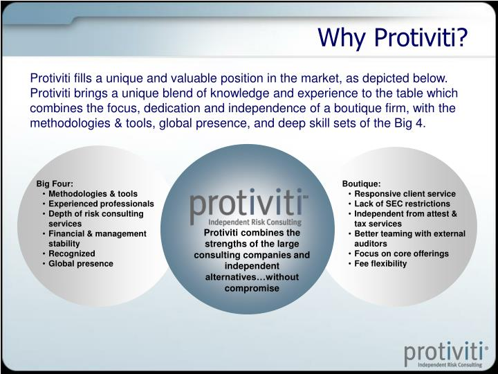Why Protiviti?