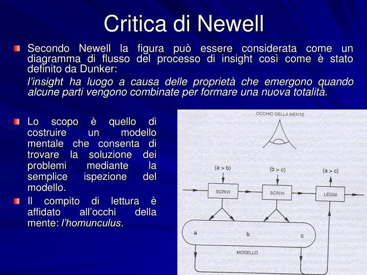 Critica di Newell