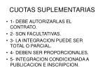 cuotas suplementarias1