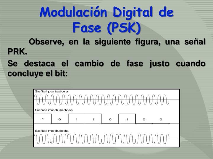 Modulación Digital de