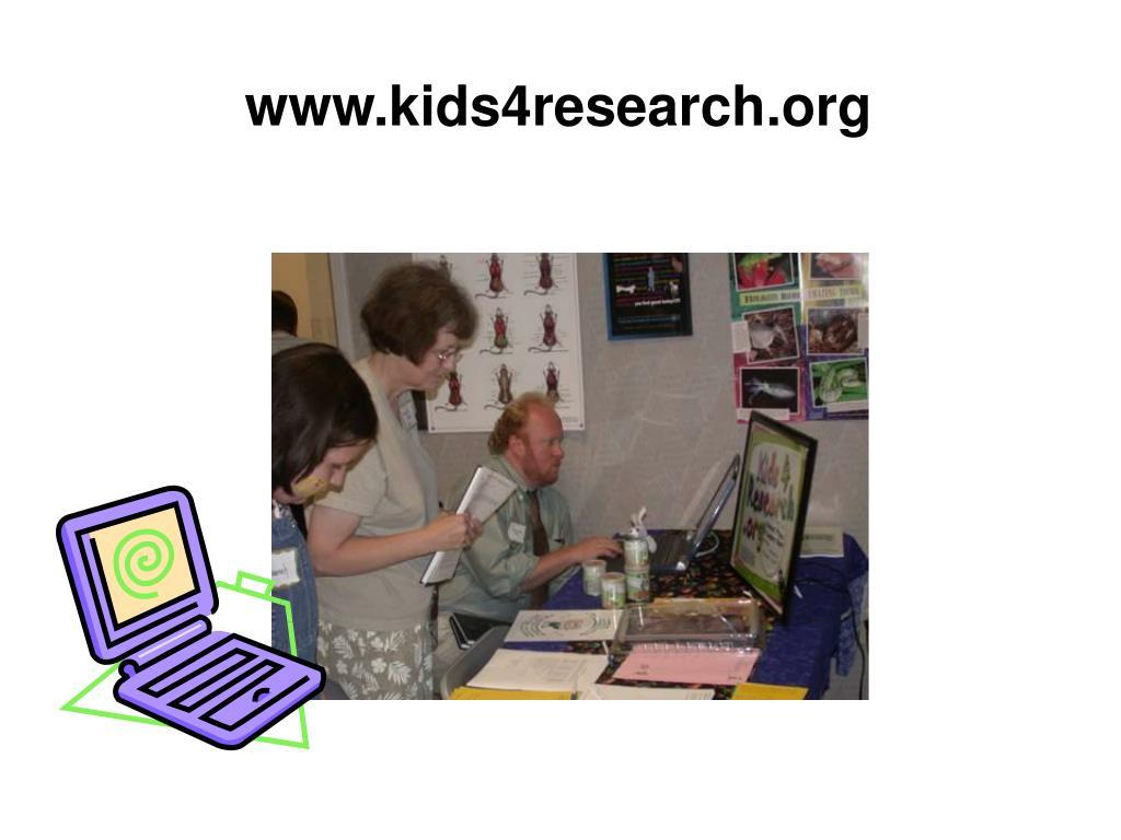 www.kids4research.org