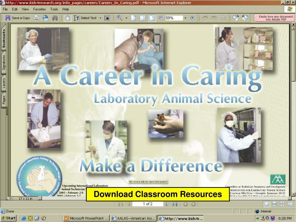 Download Classroom Resources