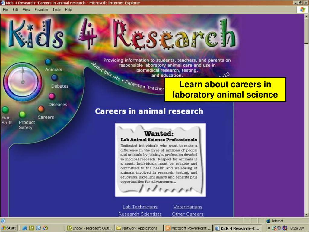 Learn about careers in laboratory animal science