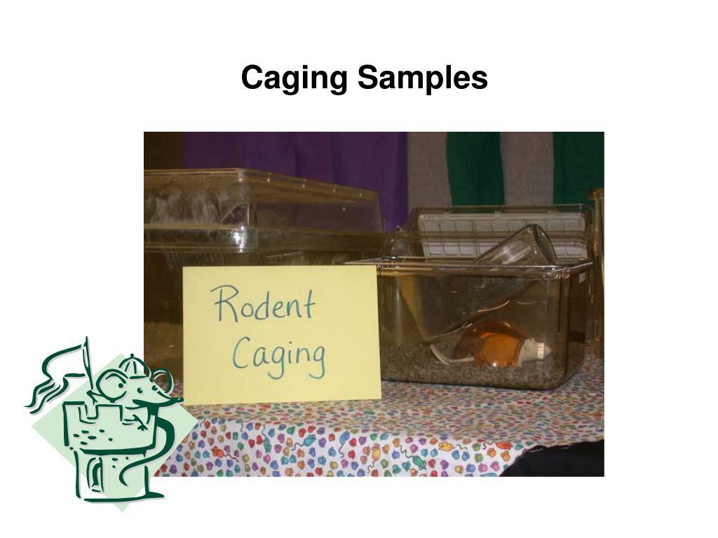 Caging Samples