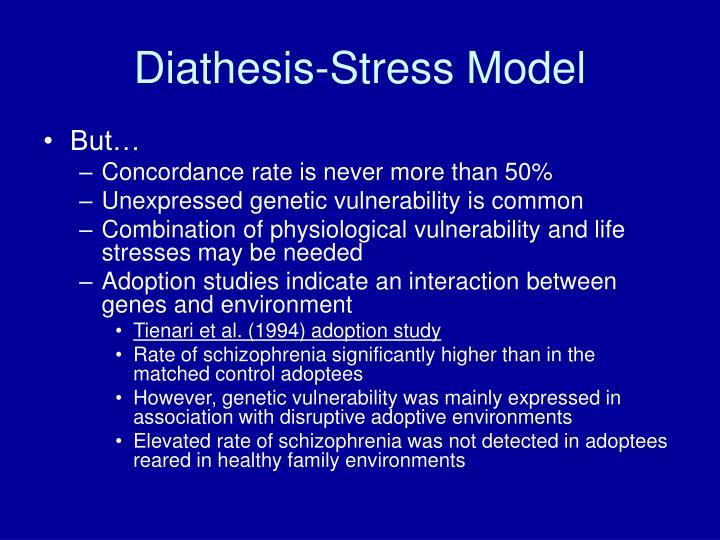 Diathesis-Stress Model