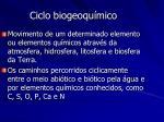 ciclo biogeoqu mico