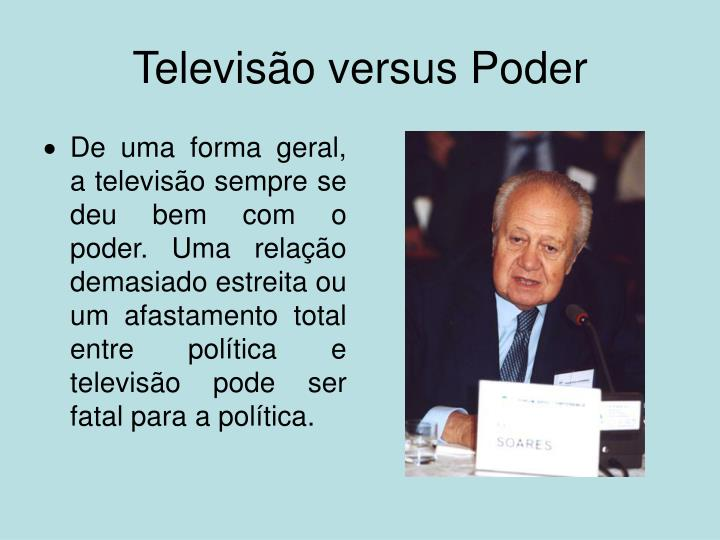 Televisão versus Poder
